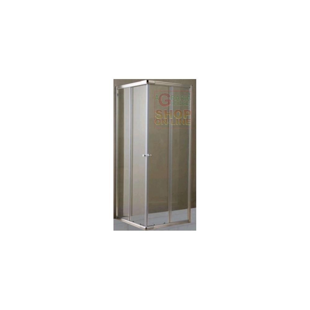 Box doccia cristallo trasparente mm 6 cm 64 70x84 90 - Box doccia trasparente ...