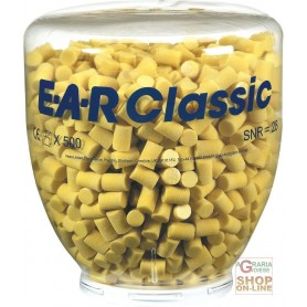 CARICA DA 500 PAIA TAPPI EAR CLASSIC PER DISPENSER ONE TOUCH