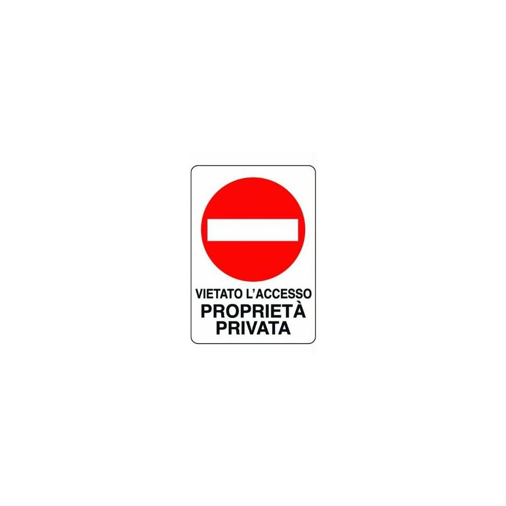 Cartello Proprieta Privata Segnale Segnale Cartello Mm300x200 yONn0wvm8