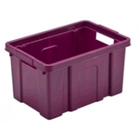 CASSETTA CONTENITORE IN PLASTICA BOXI CM. 33X22X18,5 LT. 9