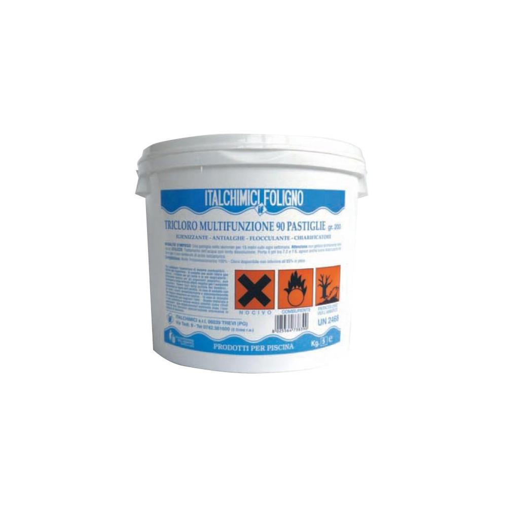 Cloro in pastiglie per piscine kg 5 - Offerte cloro per piscine ...