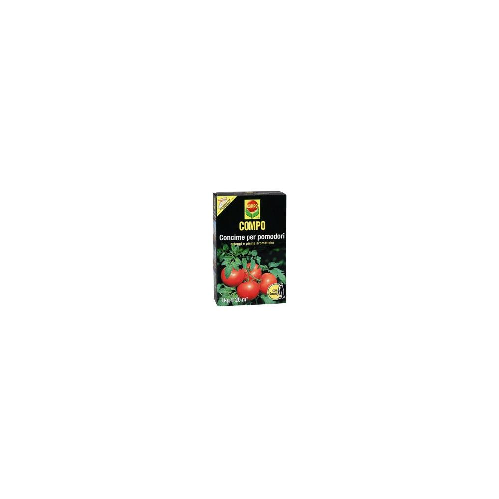 Compo concime per pomodori con guano kg 1 for Concime per pomodori