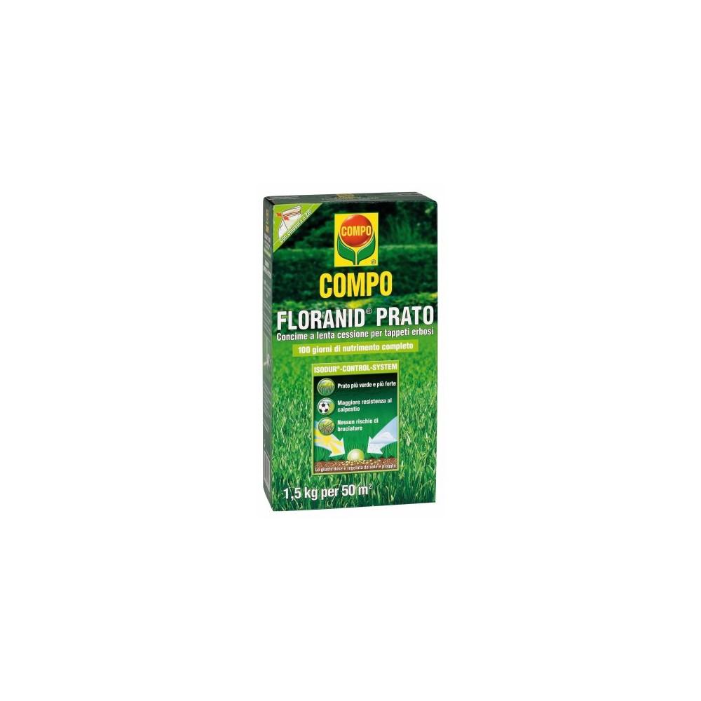 Compo floranid prato concime per tappeti erbosi con - Concime per prato ...