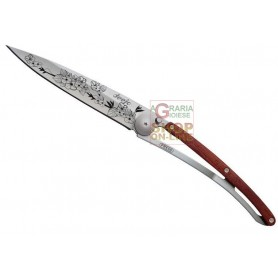 DEEJO TATTOO 37G CHERRY BLOSSOM ROSEWOOD COLTELLO CHIUDIBILE