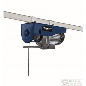 Einhell Paranco elettrico BT-EH 500 cavo 18 metri watt. 900