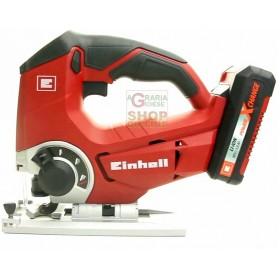 Einhell Seghetto alternativo a batteria 18v 1,5ah TE-JS 18 li