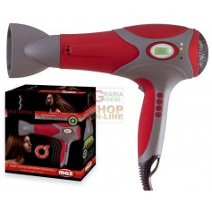 MAX ASCIUGACAPELLI RED APPEAL DIG.ION 2000W