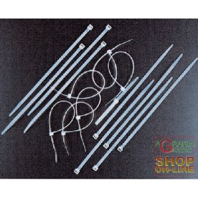 FASCETTE DI CABLAGGIO NYLON MM. 3,6 X 200 PZ. 100