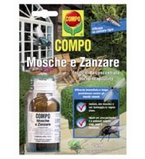 COMPO INSETTICIDA CONCENTRATO PER Mosche e Zanzare Draker 10.2 ML. 25