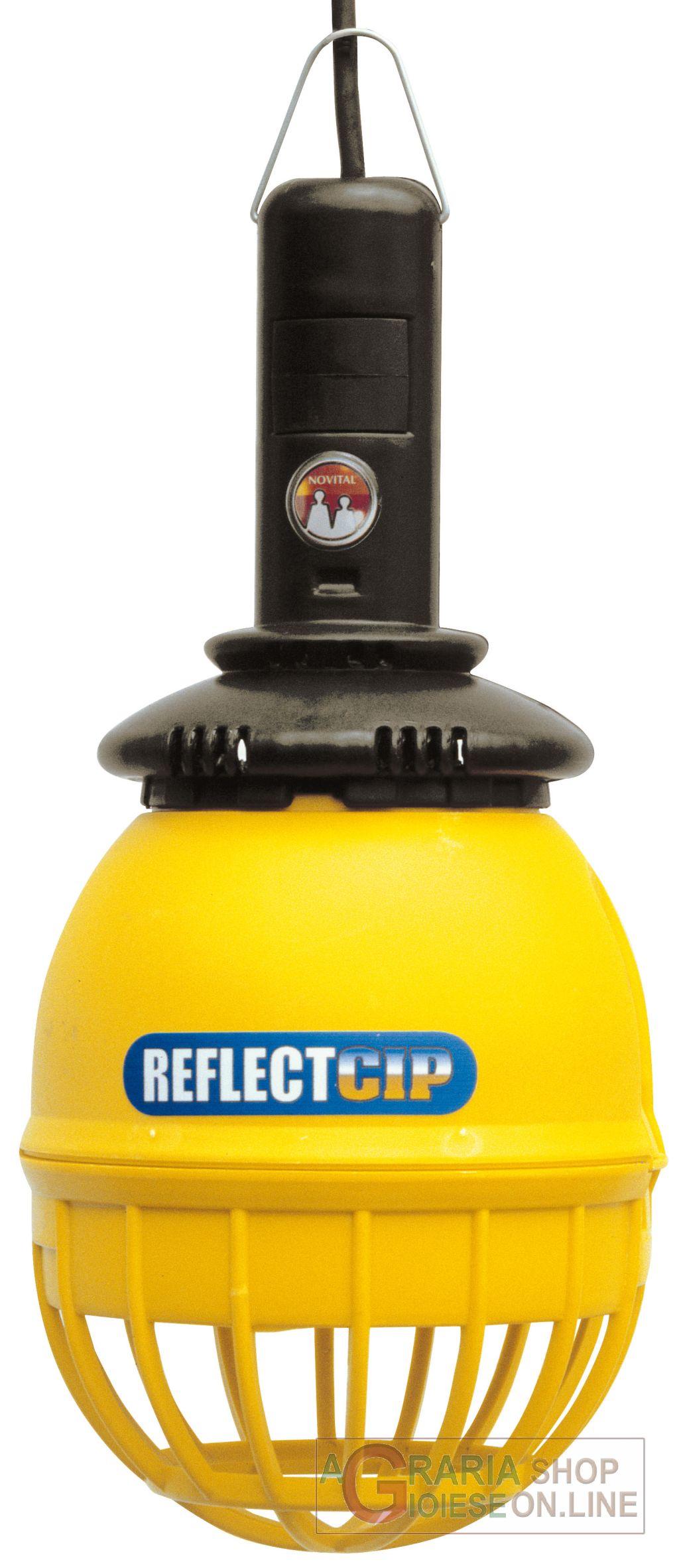 Novital reflettore reflect cip 100 riscaldamento per pulcini for Lampada infrarossi riscaldamento pulcini