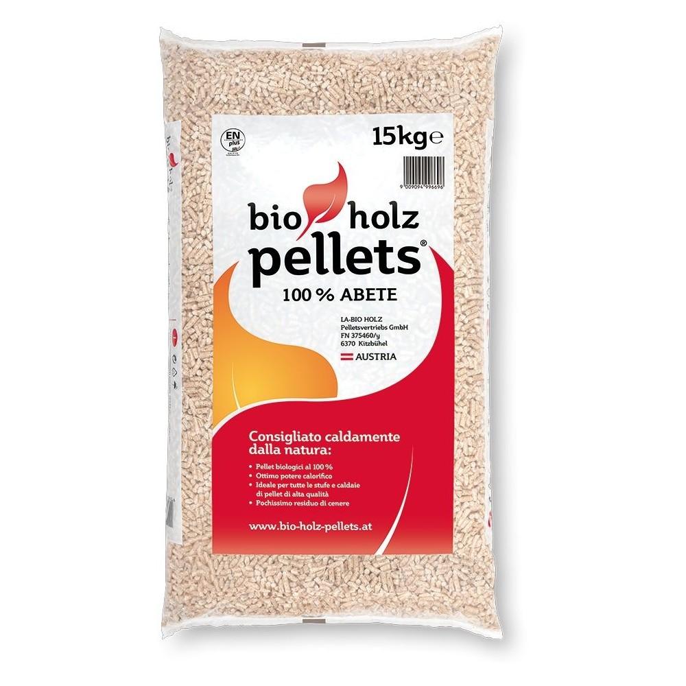 Pellet per stufe bio holz pellets legno di abete 100 kg 15 for Cancelletti per stufe a pellet
