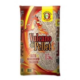 PELLET PER STUFE VULCANO ALTO RENDIMENTO CALORICO KG. 15