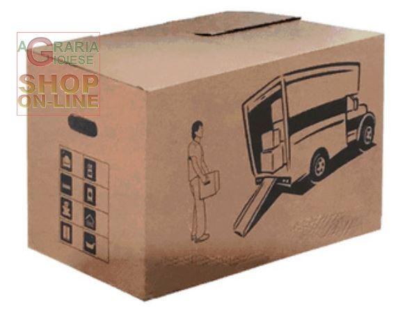Scatola cartone avana m cm 35x30x20h chiara de caria for Arredamenti in cartone shop on line