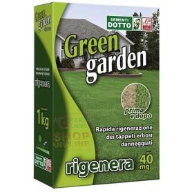 SEMI DI PRATO GREEN GARDEN RIGENERA RAPIDA GERMINAZIONE KG. 1