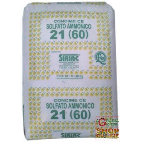 Solfato Ammonico Siriac 21 Kg 50