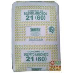 SOLFATO AMMONICO SIRIAC 21 KG. 50