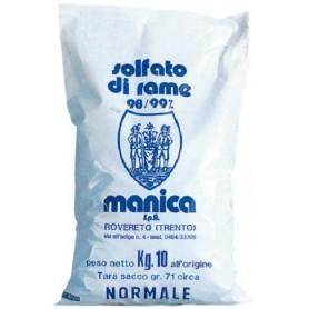 SOLFATO DI RAME IN PIETRA KG. 5