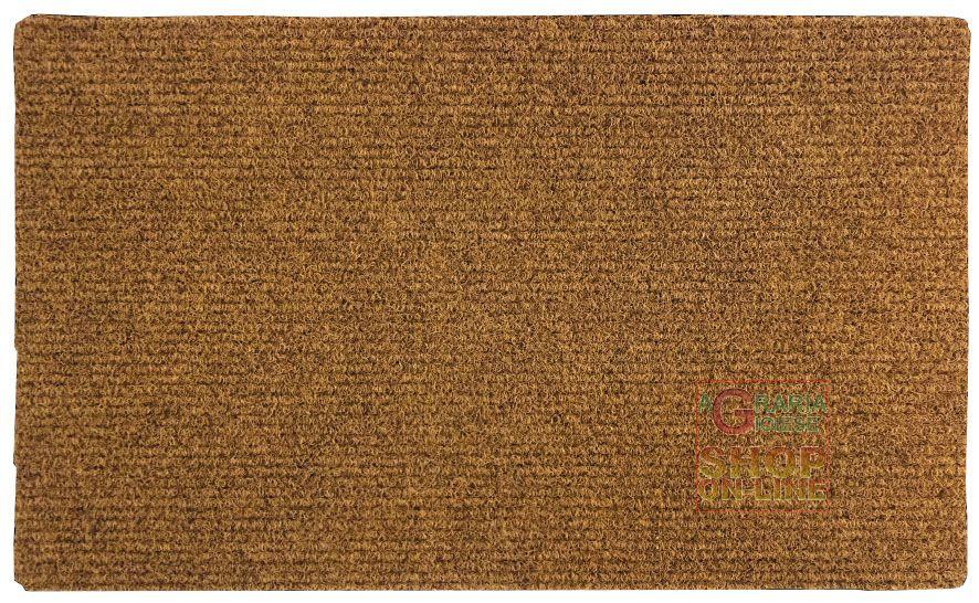 Tappeto zerbino in cocco sintetico rettangolare cm 50 x 80 for Tappeto sintetico