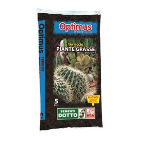 TERRICCIO OPTIMUS PER PIANTE GRASSE LT. 5