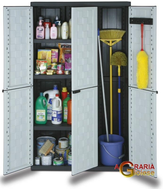 Armadietti Plastica Per Esterni.Mobili Da Balcone In Plastica Armadio Per Esterno Ikea Finest Le
