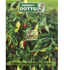 DOTTO BUSTE SEMI DI PEPERONCINO HUNGARIAN YELLOW WAX-HOT