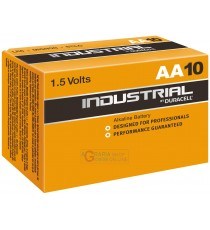 DURACELL PILE INDUSTRIAL ALK. STILO BOX PZ. 10 AA