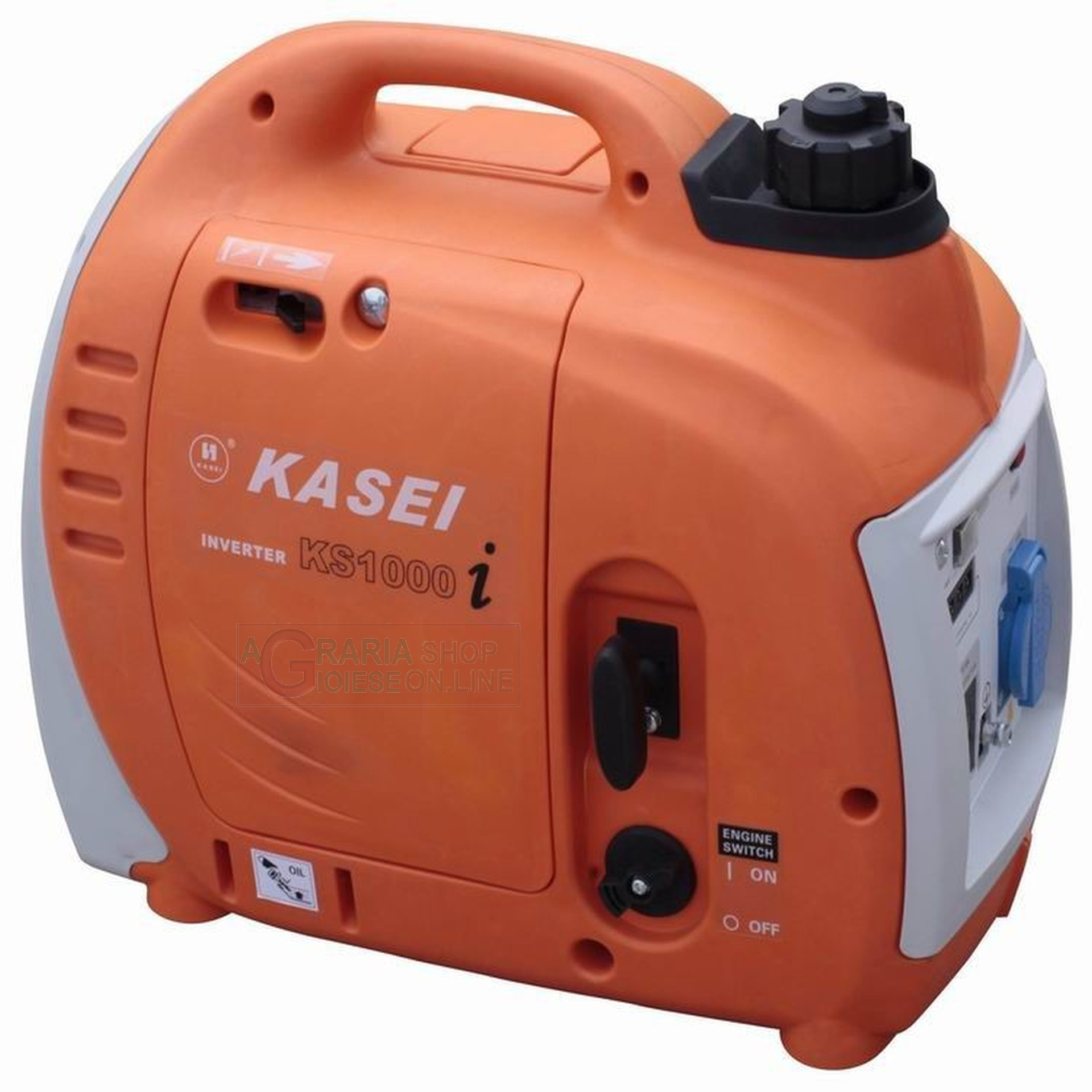 Generatore ad inverter professionale kasei ks1000i portatile for Generatore emergenza casa