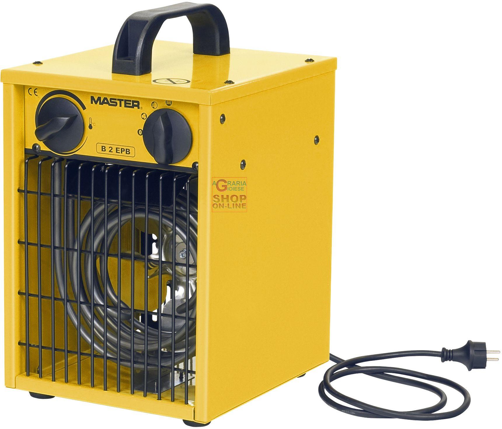 Riscaldamento Elettrico Ad Aria.Generatore Elettrico Ad Aria Calda Con Ventilatore Kw 2