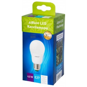 Lampada Goccia Airam Finland a led E27 watt. 6,5 per crescita