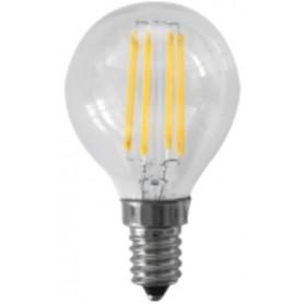 LAMPADA MINI SFERA FILAMENTO A LED NATURALE E14 WATT 14