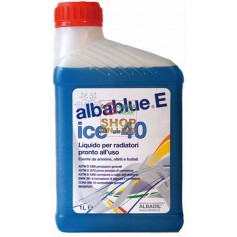 LIQUIDO ANTIGELO ALBABLUE ICE PRONTO USO -40 GRADI LT. 1