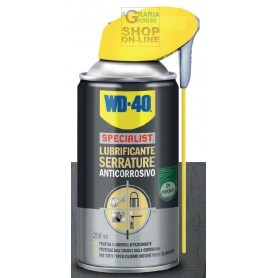 LUBRIFICANTE WD40 PER SERRATURE COD 39308 ML. 250