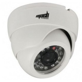 MACH POWER TELECAMERA PER INTERNO 3,6 MM. 480TVL LED 24
