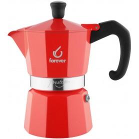 FOREVER Macchina del caffè caffettiera Prestige La Rossa 2 tazze