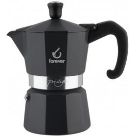 FOREVER Macchina del caffè caffettiera Prestige Noblesse nera 1 tazza
