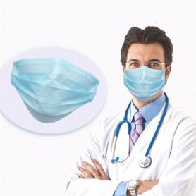 5 MASCHERINE HOSPITAL MEDICAL PRIMA PROTEZIONE STERILIZZATI IN TNT 4 STRATI