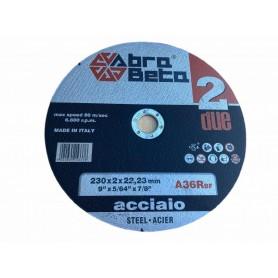 Abra beta A36R disco per smerigliatrice da taglio ferro inox mm. 115x1x22,23