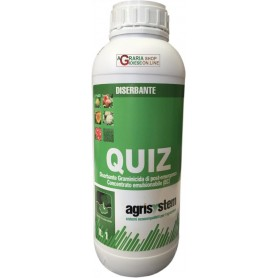 AGRISYSTEM QUIZ HERBICIDE SELECTIVELY ON A BASIS OF QUIZALOFOP LT. 1