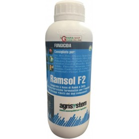 AGRISYSTEM RAMSOL F2 FUNGICIDE BASED ON COPPER AND SULPHUR CUTHIOL LT. 1