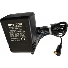 POWER SUPPLY OPTICON A50200N0020 AC ADAPTER 9V 0.5 A 230V ORIGINAL