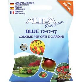 ALTEA BLUE 12-12-17 GRANULAR FERTILIZER BALANCED FOR GARDENS AND ORCHARDS KG. 4