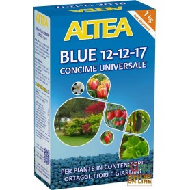 ALTEA BLUE 12-12-17 GRANULAR FERTILIZER BALANCED FOR GARDENS, ORCHARDS, AND GARDENS 1 Kg