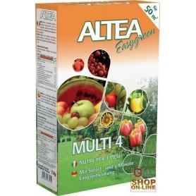 ALTEA MULTI 4 GRANULAR FERTILIZER TO SLOW release FOR the GARDENS AND VEGETABLES 2 Kg