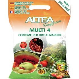 ALTEA MULTI 4 GRANULAR FERTILIZER TO SLOW release FOR the GARDENS AND VEGETABLES 5 Kg
