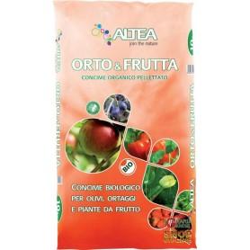 ALTEA GARDEN & FRUIT ORGANIC FERTILIZER PELLETS FOR VEGETABLES AND FRUIT PLANTS TO 10 Kg