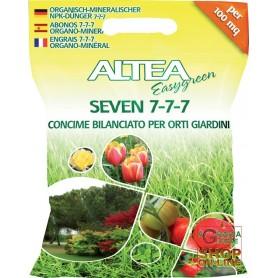 ALTEA SEVEN 7- 7- 7 GRANULAR FERTILIZER BALANCED FOR the GARDEN AND the GARDEN 5 Kg