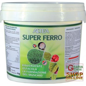 ALTEA SUPER IRON RINVERDENTE ANTIMUSCHIO GRANULAR kg. 4