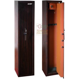 WARDROBE PORTAFUCILI BLINKY 7-SEATER WOOD-EFFECT WITH SOME 35X28X145H