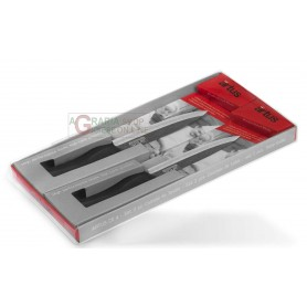 ARTUS SET 2 KNIVES, A KITCHEN WITH A CERAMIC BLADE FRAME CM. 10