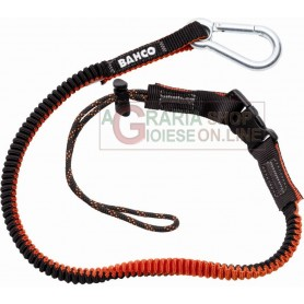 BAHCO ART. 3875-LY3 CORD WITH CARABINER, DETACHABLE
